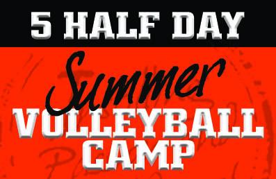 HITT - 5 Half Day Summer Volleyball Camps